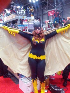 batgirl at booth