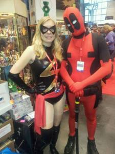 ms marvel and deadpool