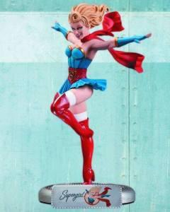 supergirl bombshell statue