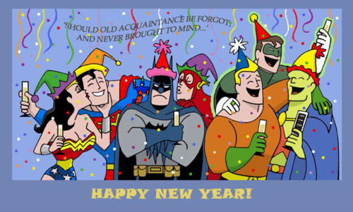 happy-new-year-comics-dc-marvel-justice-league-liga-da-justica-big-bang-theory-feliz-ano-novo-quadrinhos