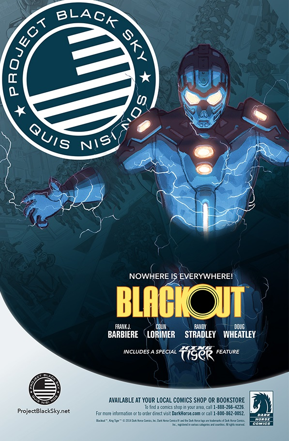 Preview: Blackout #1 on sale March 26th