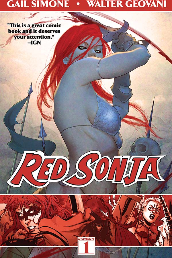Red Sonja: Queen of Plagues Trade Hits Shelves Today!