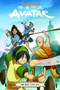 Avatar: The Last Airbender: The Rift, Part 1 hits #1 on the Times Best Seller List