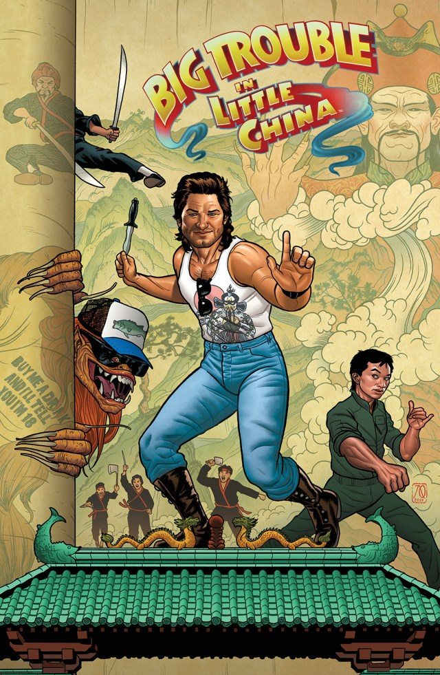 BIG TROUBLE IN LITTLE CHINA #1 Cover B by Joe Quinones