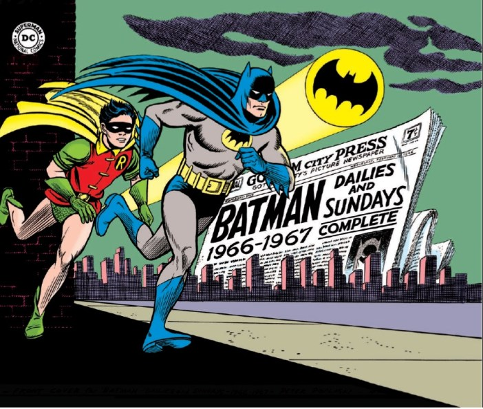 Preview! Batman Silver Age Newspaper Comics Vol. 1: 1966-1967 HC from IDW!