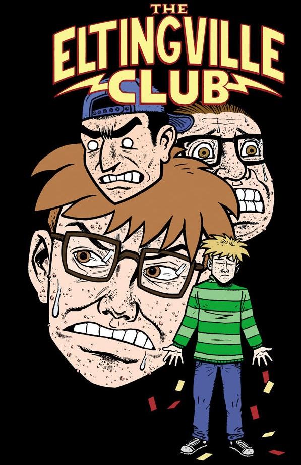 Evan Dokin's Eltingville Club #1 on sale April 23rd