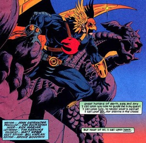 Hawkman vol. 3 John Ostrander Jan Duursema