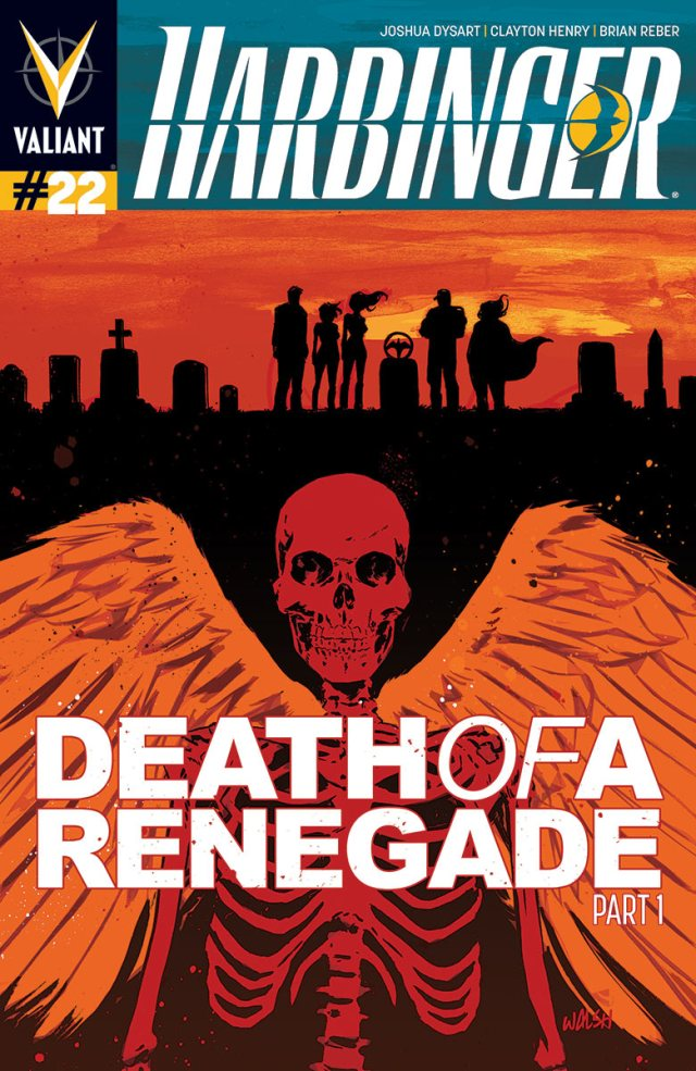 Harbinger #22 Preview - Death of Renegade Begins Here!