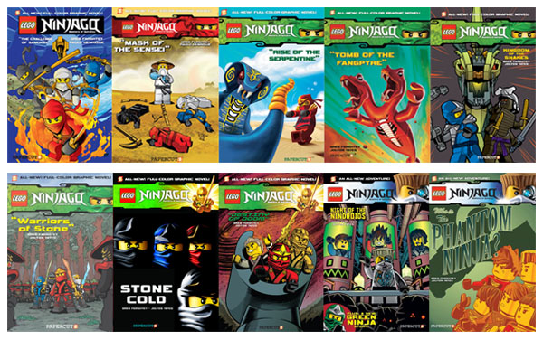 Lego Ninjago Graphic Novels Going Strong, Sales Pass 2 Million ...