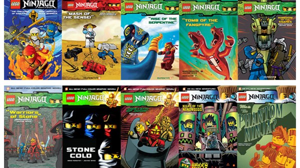 Lego Ninjago Graphic Novels Going Strong, Sales Pass 2 Million ...