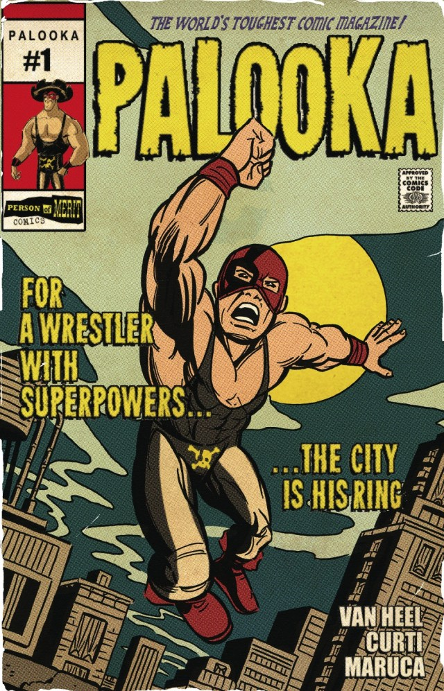 Review: Palooka #1; Palooka-Mania Runs Wild....Brother!