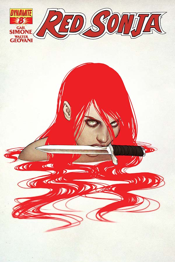 Red Sonja continues her quest for artisans in Red Sonja #8