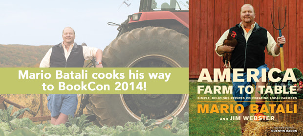 Mario Batali and More at BookCon in May