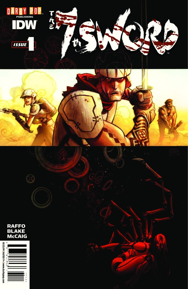 Preview of the The 7th Sword! In Stores 4/23!