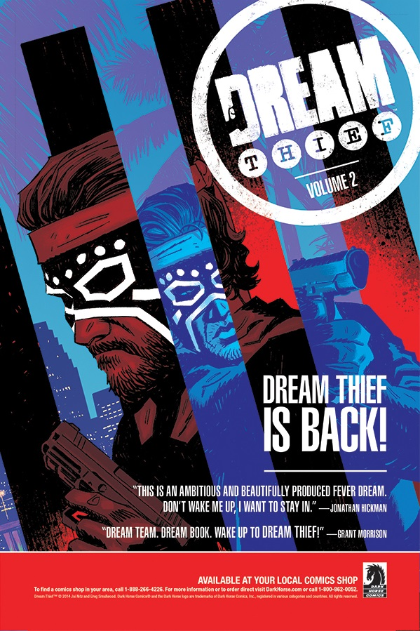 Preview: Dream Thief: Escape#1 - from Dark Horse!