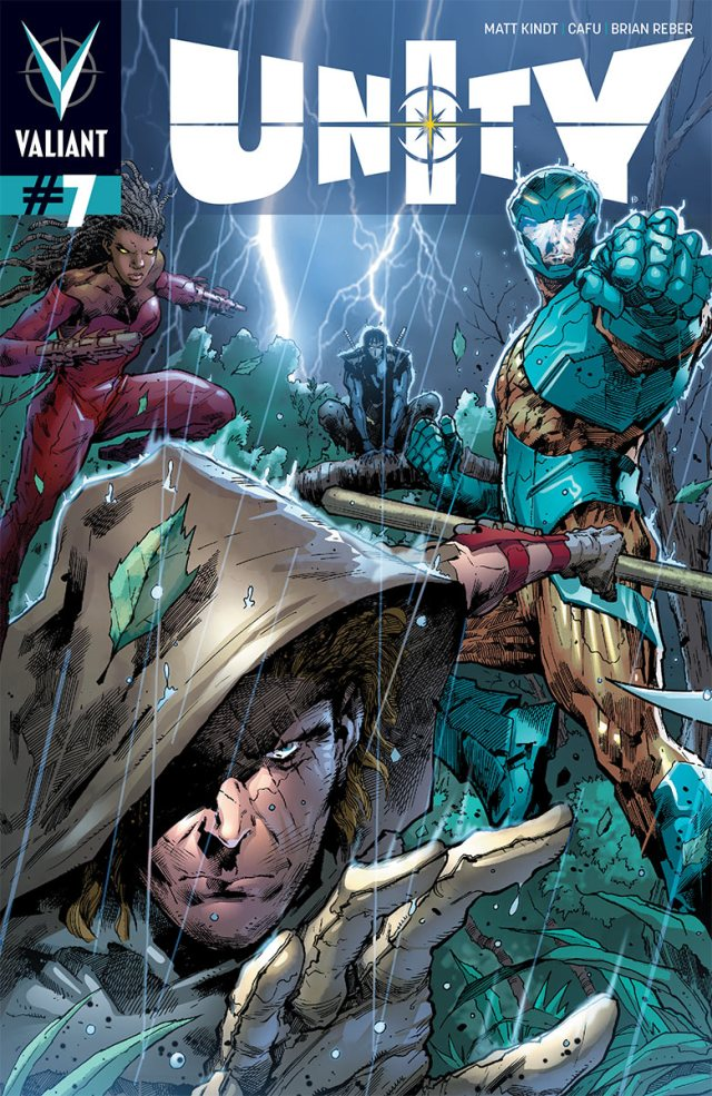 Unity #7 - Dr. Silk spins his deadly finale to the Webnet arc!
