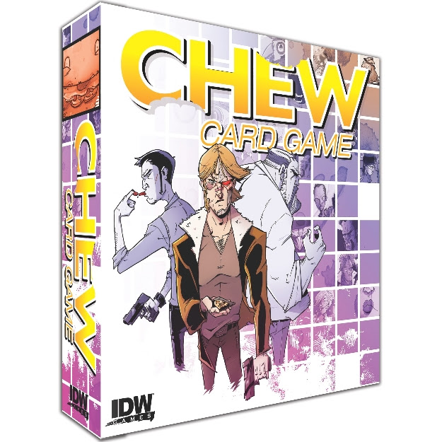 "Smash-Hit Comic Series ""Chew"" Comes to Tabletop Gaming"