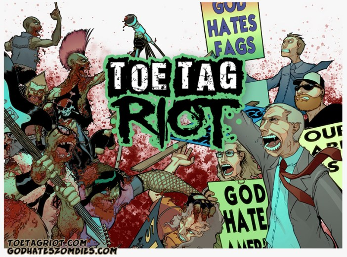 Come Check Out ZOMBIE PUNKS VS. THE WESTBORO BAPTIST CHURCH!