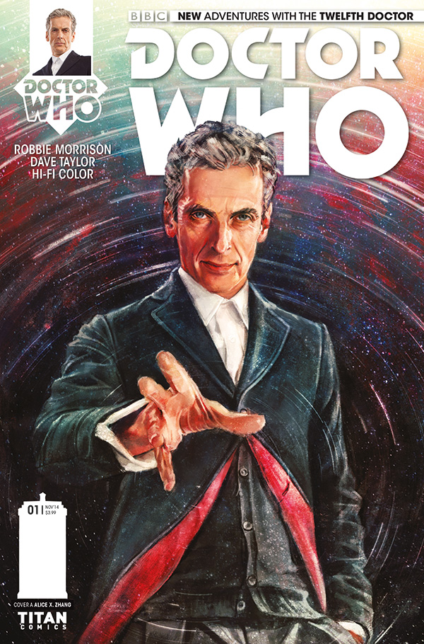 First Look! New Doctor Who Comics!