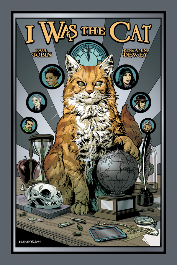 Preview/Review: I Was the Cat: Nine Lives with a Side of World Domination