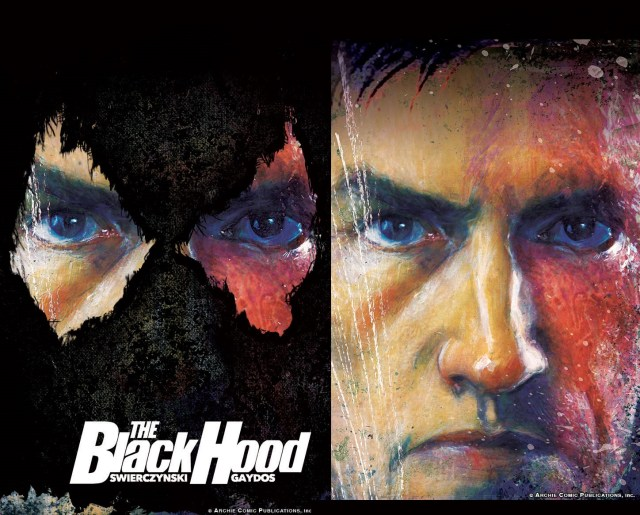 """Duane and Michael are concocting a gritty, noir crime thriller that presents the Black Hood as the true urban vigilante he was meant to be."""""""