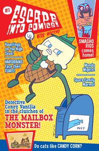 Escape Into Comics with Mark Mariano's Hugless Hill!