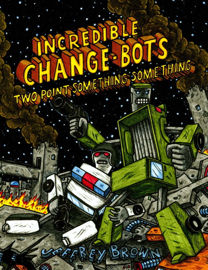 Top Shelf Presents Jeffrey Brown's Incredible Change-Bots Collection