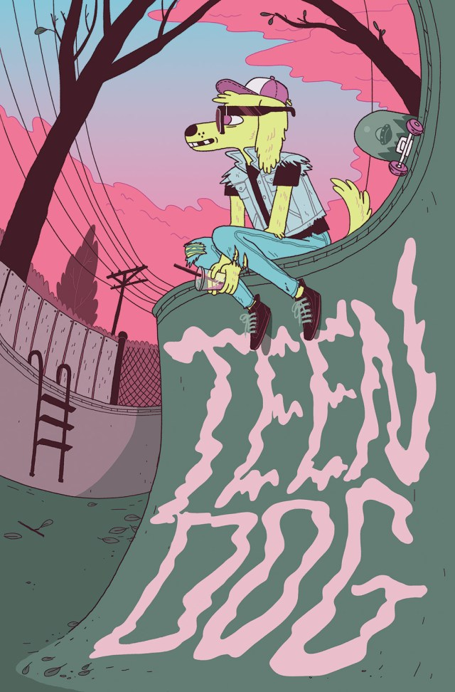 TEEN DOG #1 Retailer Incentive Cover (1 in 15) by Jen Lee