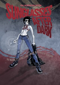 Sunglasses After Dark Collected Edition! From Nancy Collins & IDW!