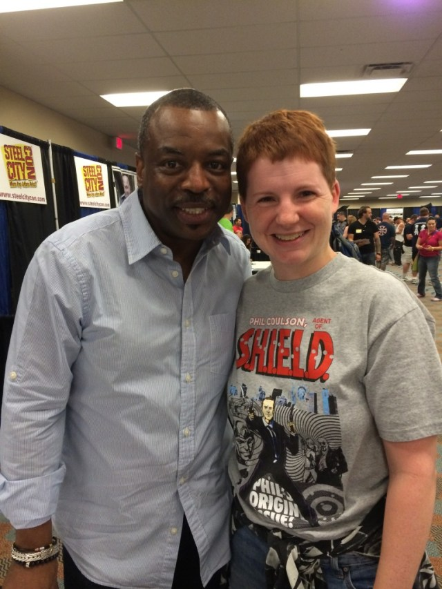 Paying Witness To LeVar Burton's Impressive Legacy at Steel City Con!