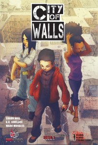 Review - City of Walls #1 - A Book About Heroes