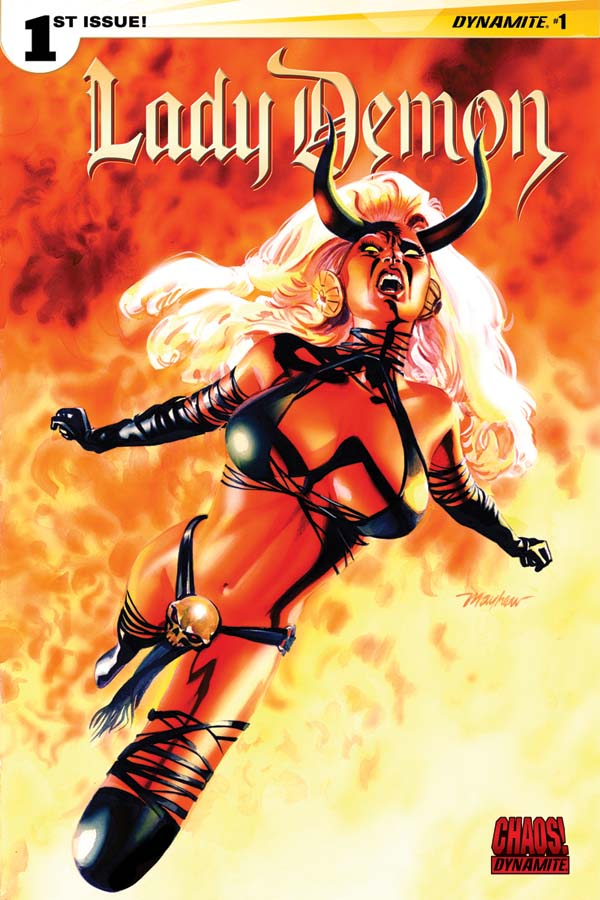Lady Demon is Back! More Chaos from Dynamite!