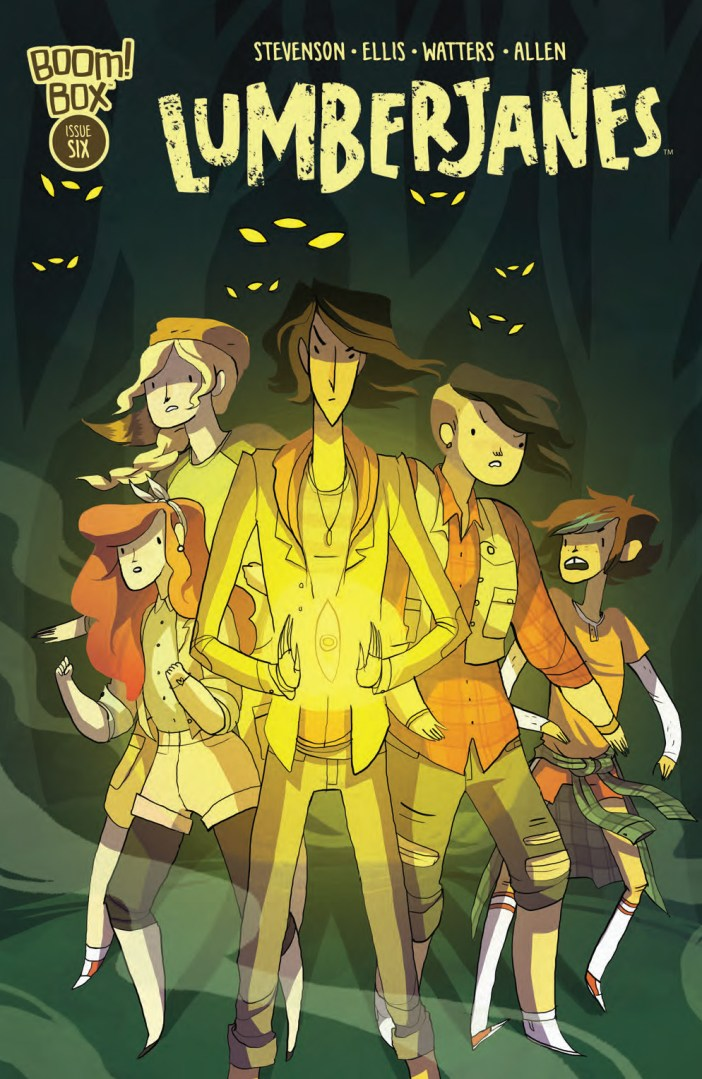Preview - Lumberjanes #6 - Capture the Flag Gets a Bit Out of Hand