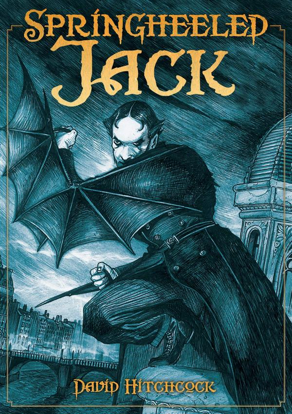 Springheeled Jack: Alien Meets Gothic in This New Titan Publication
