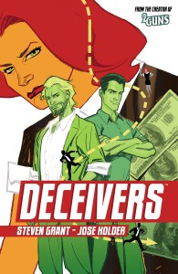 DECEIVERS TP Cover by Stephane Roux