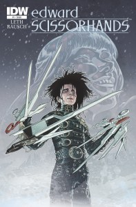 Preview/Review - Edward Scissorhands #1 - IDW