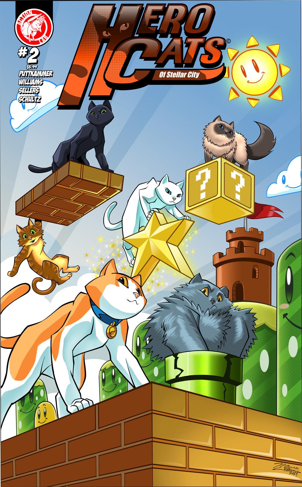Cats Game Defend Forklift