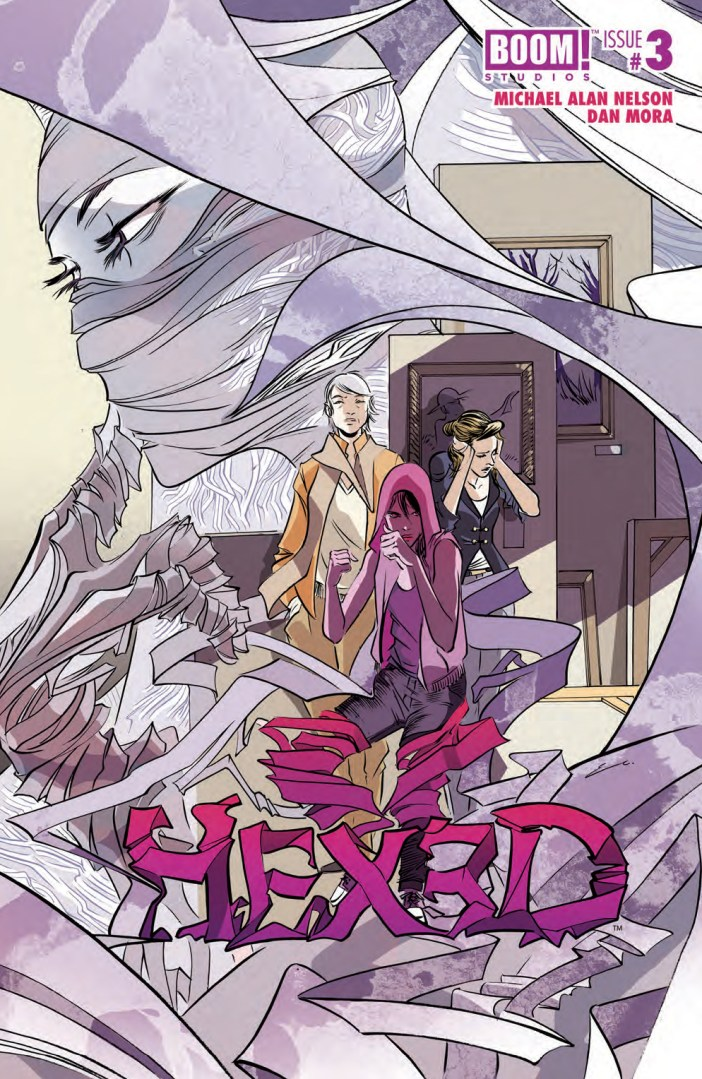 Preview - Hexed #3 - The right blend of attitude, damage and nobility