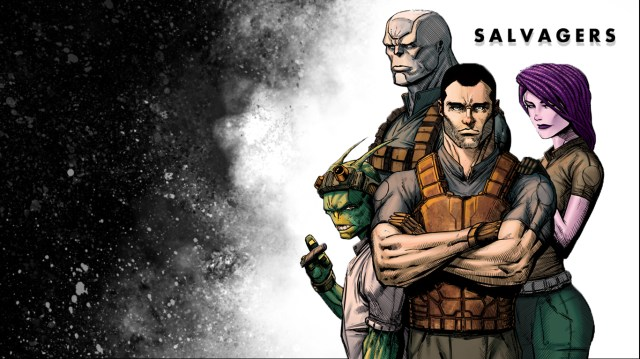 Salvagers #2 - Next Big Sci-Fi Hit? NYCC'14 Reviews