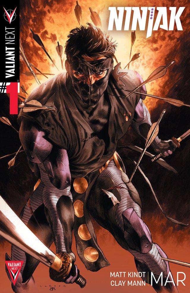 Valiant Next! Part 5 - Ninjak #1