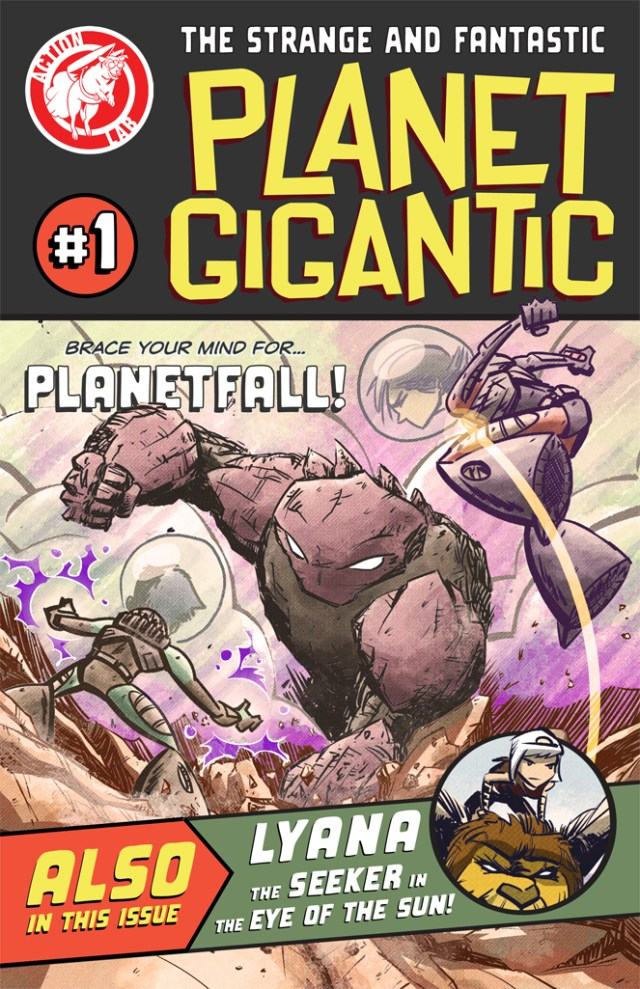 Planet Gigantic Arrives in Shops Today! Check Out the Preview!