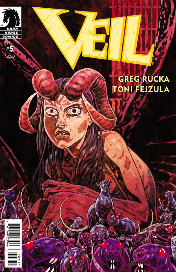 Preview/Review - Veil #5 - A Satisfying End To A Good Series.