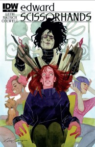 """Edward Scissorhands"" #2 Review - Eli Is On The Loose!"