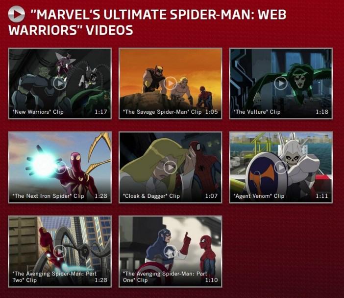 MarvelKidsSpideyVideos