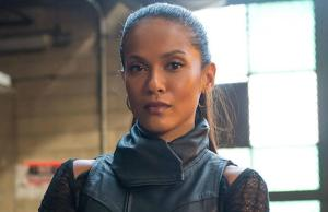 Lesley-Ann Brandt as Larissa Diaz a.k.a Copperhead - image ©Fox
