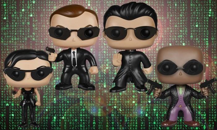 Free your mind. Prepare for The Matrix POP! Vinyl Figures