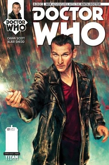Titan's Ninth Doctor Mini-Series! Coming in March '15!