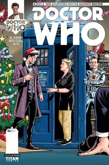 ELEVENTH​ DOCTOR #5​ (The WHO Shop Edition)​