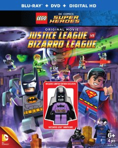 Everything is Awesome, because we're getting LEGO DC JUSTICE LEAGUE VS. BIZARRO LEAGUE ON DVD!