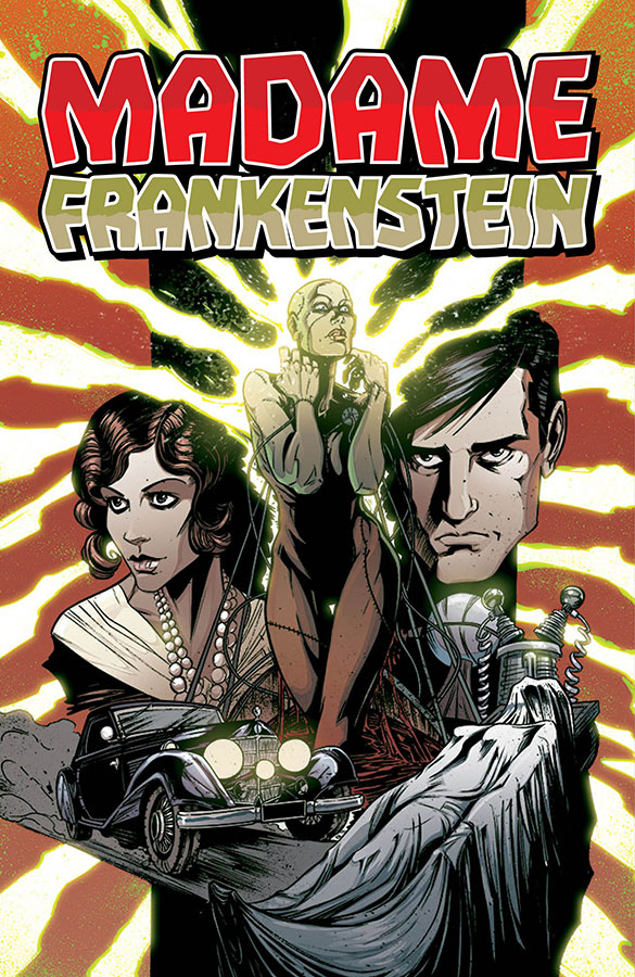 Madame Frankenstein Trade from Image Comics!